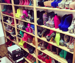 closet, colorful, and fancy image