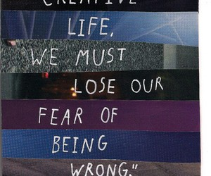 creative, fear, and life image