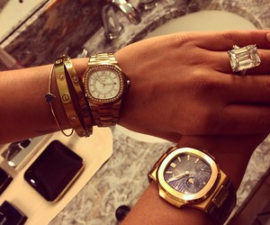 watch, luxury, and style image