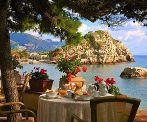 beauty, nature, and restaurant image