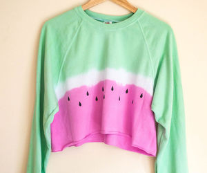 sweater and watermelon image