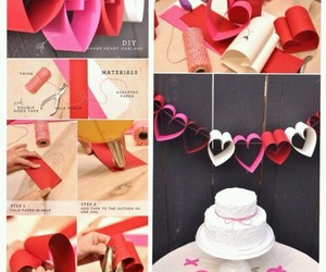 decoration, diy, and hearts image