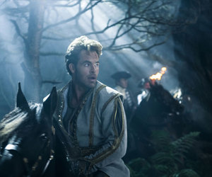into the woods, chris pine, and disney image