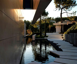 house, water, and luxury image