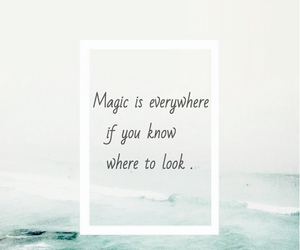 quote and magic image
