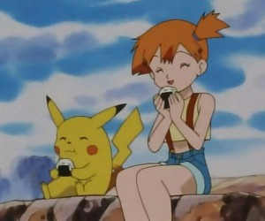 misty, fondos, and pikachu image