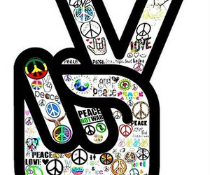 peace and peace and love image