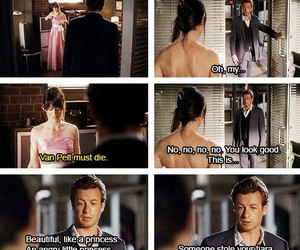 adorable, the mentalist, and patrick jane image