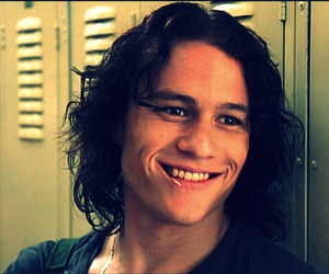 heath ledger, boy, and 10 things i hate about you image