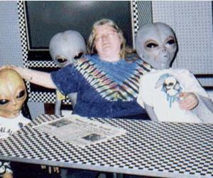 alien, grunge, and funny image