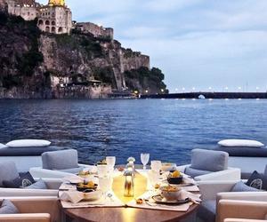 beautiful, sea, and food image