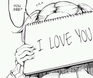 manga, anime, and I Love You image
