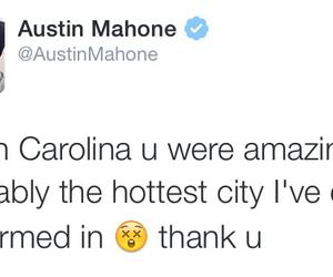 Austin, South Carolina, and tweet image