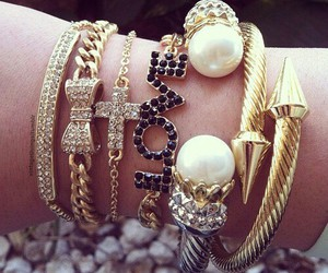 fashion, bracelet, and photography image