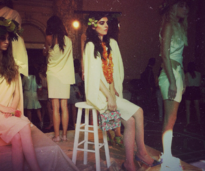 models, nyfw, and arden wohl image