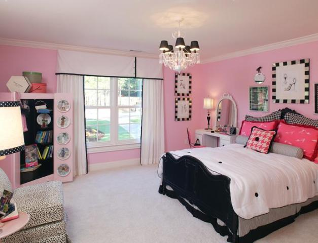 Bedroom Designs. All Is Feminine With Cute Girl Bedroom Ideas: The ...