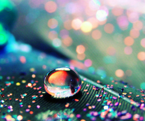 water, drop, and colorful image