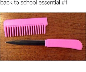 funny and back to school image