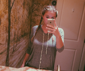 braids, hipster, and retro image