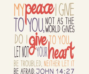 peace, god, and bible image