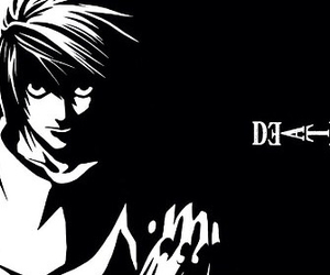 anime, death note, and lawliet image