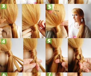 diy, tutorial, and hairstyle image