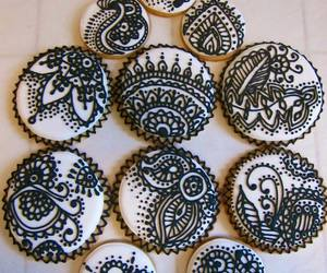 cookie, henna, and henna design image