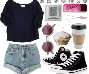 fashion, look, and converse image
