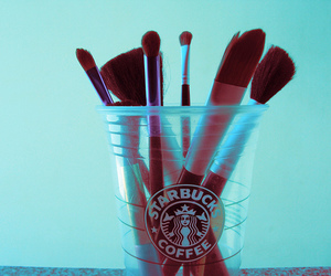brush and starbucks image