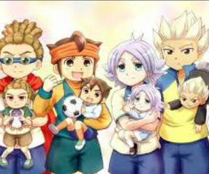 mark evans, inazuma eleven, and jude sharp image