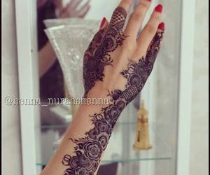 beautiful and henna image