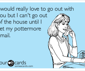 harry potter, no social life, and pottermore image