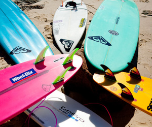 surf, summer, and roxy image