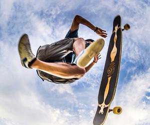 awesome, longboard, and nice pic image
