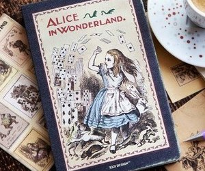alice, book, and happy image