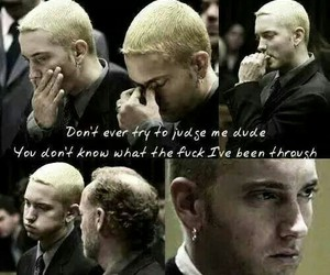 eminem and sad image
