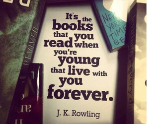 book, quote, and jk rowling image