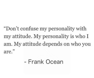 quotes, personality, and attitude image