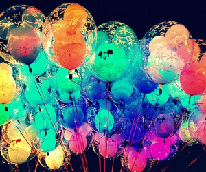 balloons, disney, and colorful image