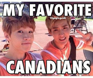 canadian, exo, and henry image