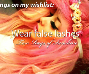lashes and make up image