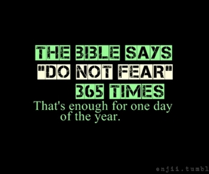 fear and bible image