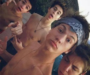 taylor cannif, nash grier, and matthew espinosa image