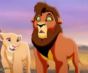 disney, lionking, and kovu image