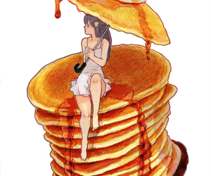 art, drawing, and honey image