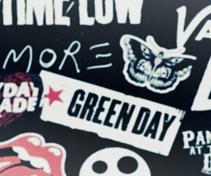 all time low, green day, and header image