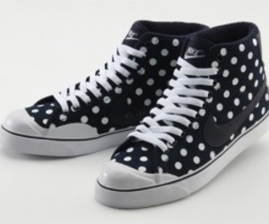 dots, nike, and sneakers image