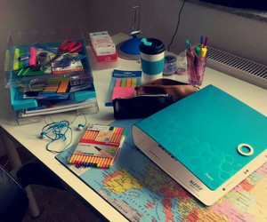 pens, school, and school supplies image