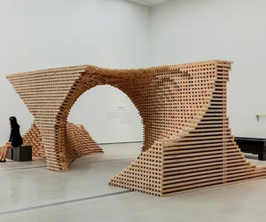 complex, structure, and wooden image
