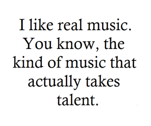 music, quote, and real image